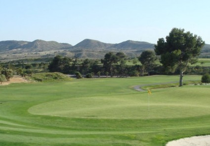 Beautiful golf course of the hotel La Lagune in Quesada